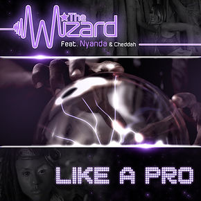 Digital Cover for Like A Pro by The Wizard featuring Nyanda & Chedda
