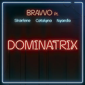 digital cover for dominatrix by bravvo feat sharlene, catalyna and nyanda
