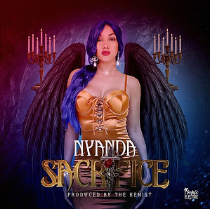 digial cover for sacrifice by nyanda