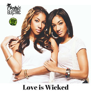 Digital Cover for Spotify Playlist Love is Wicked
