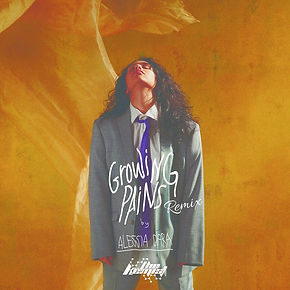 digital cover for growing pains (the kemist remix) by alessia cara