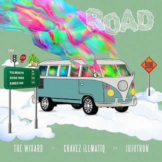 digital cover for Road by The Wixard & Chavez illmatiq feat Jujutron