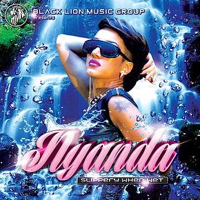 Digital cover for Slippery When Wet by Nyanda