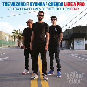 Digital cover for Like A Pro (Yellow Claw Remix) by The Wizard, Nyanda, Chedda