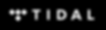 Tidal logo with black background