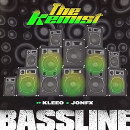 digital cover for Bassline by The Kemist featuring JonFX and Kleeo