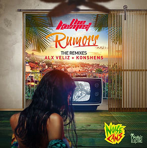 digital cover for rumors the remixes by the kemist and noise cans