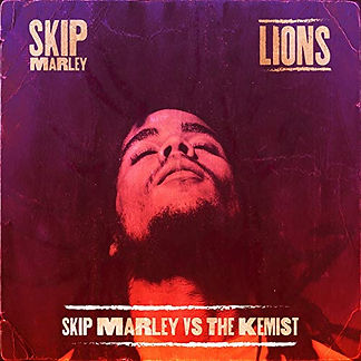digital cover for Lions by Skip Marley and The Kemist