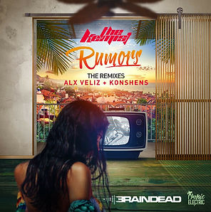 digital cover for rumors the remixes by the kemist and dj braindead