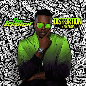 digital cover for distortion by the kemist feat nyanda from brick and lace