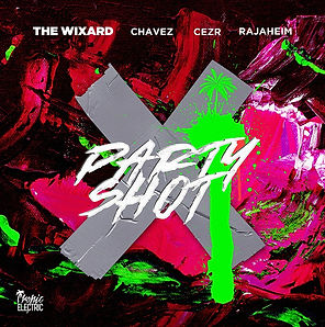 digital cover fo party shot by the wixard