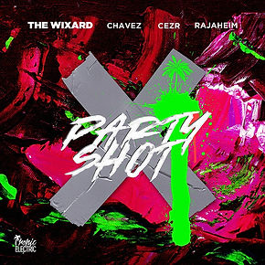 digital cover for party shot by the wixard