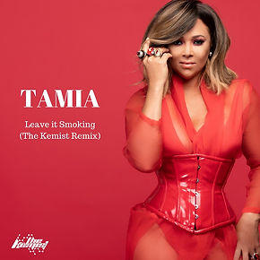 digital cover for leave it smoking (the kemist remix) by tamia
