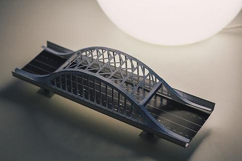 永代橋ペーパークラフト
