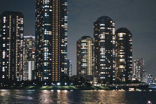 佃のマンション群
