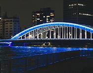 永代橋 夜景 重要文化財