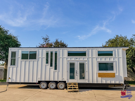 """Rambler Deluxe #THOW 36'L x 10'W x 13'6""""H #Irthome29"""