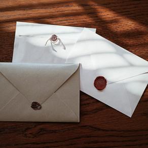 Własnoręcznie wykonane listy