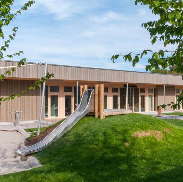 Juno Weil am Rhein  Kita mit Jugendhaus   Fuchs Maucher Architekten   Waldkkirch