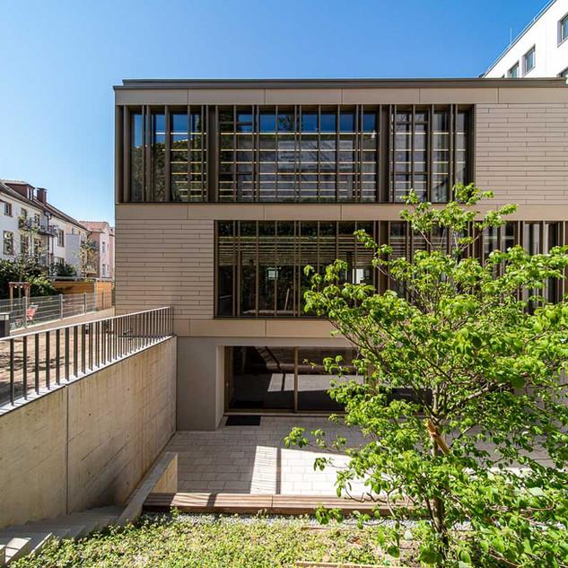 UNI Bilbliotheksgebäude Freiburg  Fuchs Maucher  Architekten BDA Waldkirch