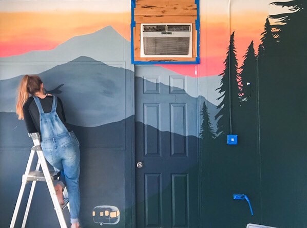Custom Business Mural 5