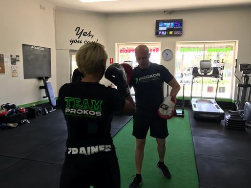Cardio Kickboxing with Mark Thompson