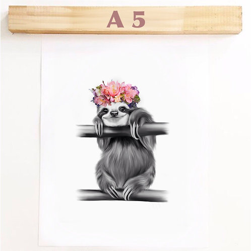 A5 POGO PINK FLOWERS
