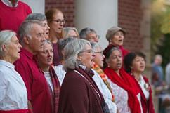 Gospel in the Maine choir