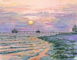 Sunset, Ft Myers Beach