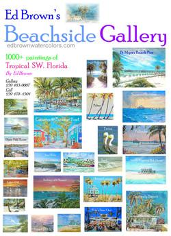 Beachside Gallery in Ft Myers Beach