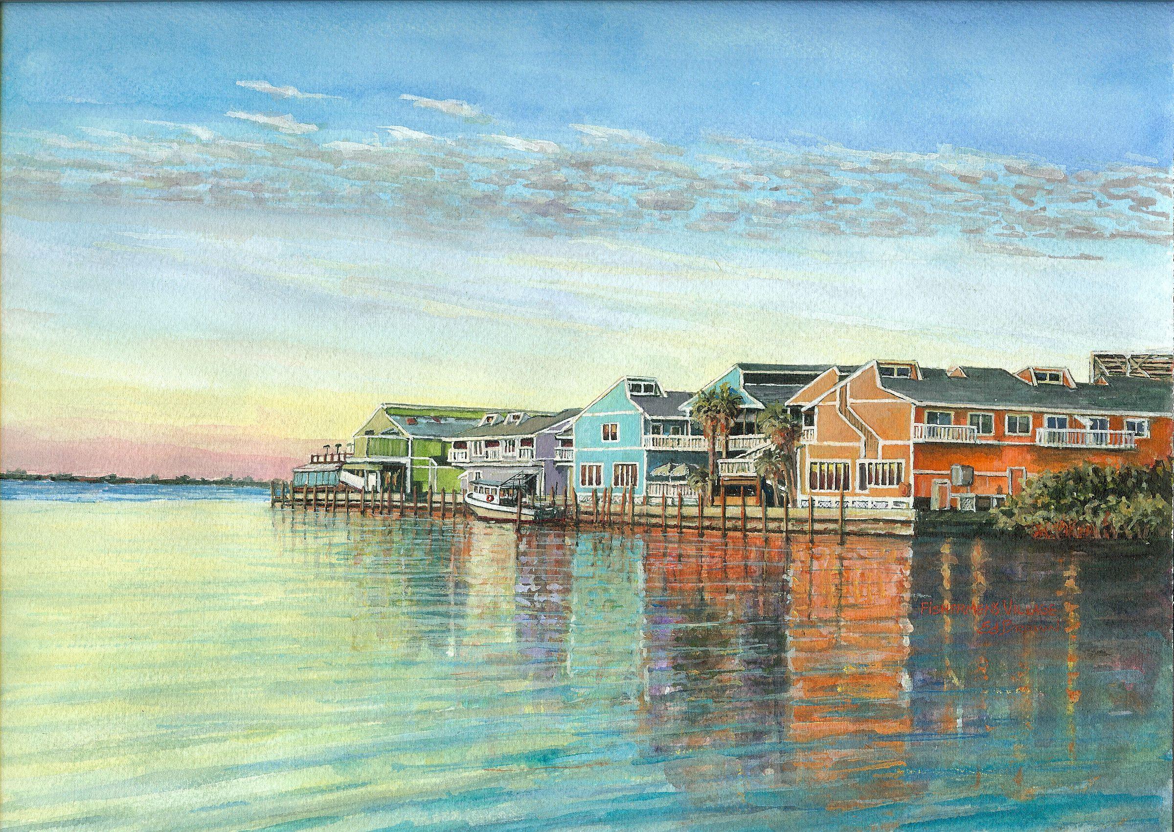 Sundown, Fisherman's Village