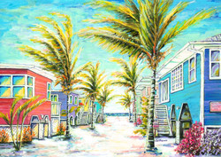 Crayola Cottages, Ft Myers Beach