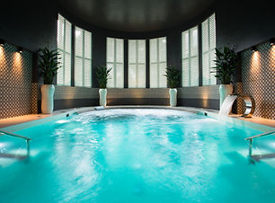 hedon spa swimming pool sun therapy room