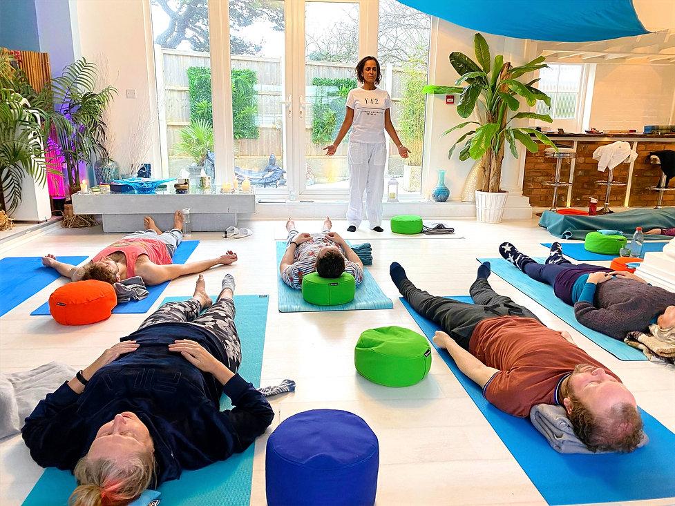 Yoga Class _ Beach Sun Retreat