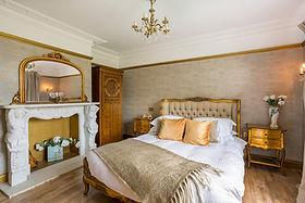 Goldie Bedroom Hand Carved Marble Firepl