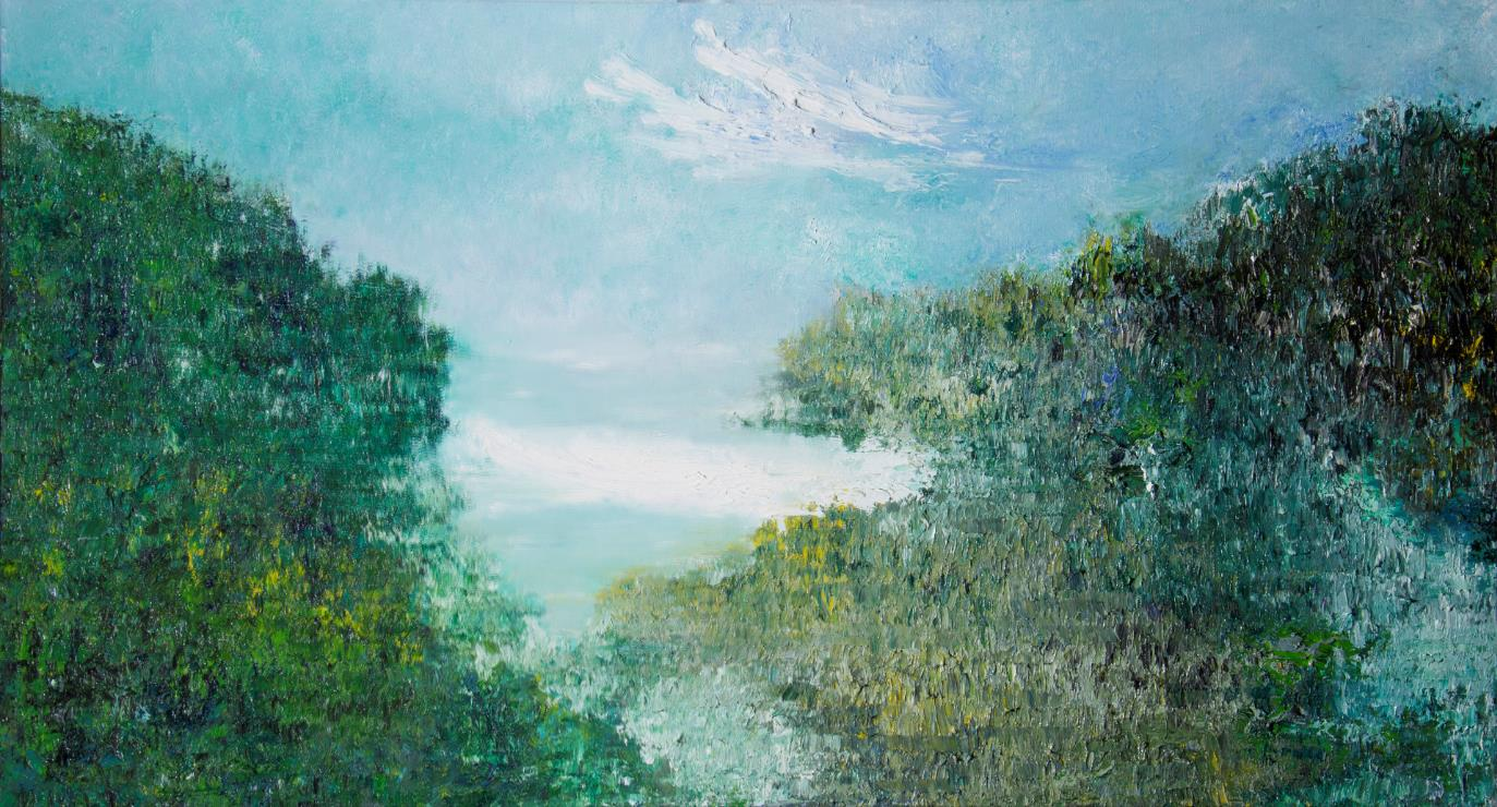 Day and Night (2) 日與夜 (2) 60 x 110cm