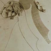 Projeto da Cabeça Leonínea de um Violone