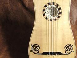 Guitarra Barroca Detalhe