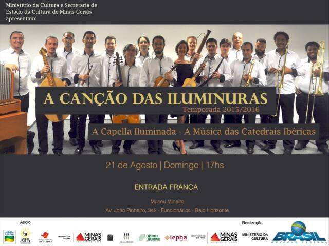 """ACanção das Iluminuras - Concerto """"A capela Iluminada"""""""