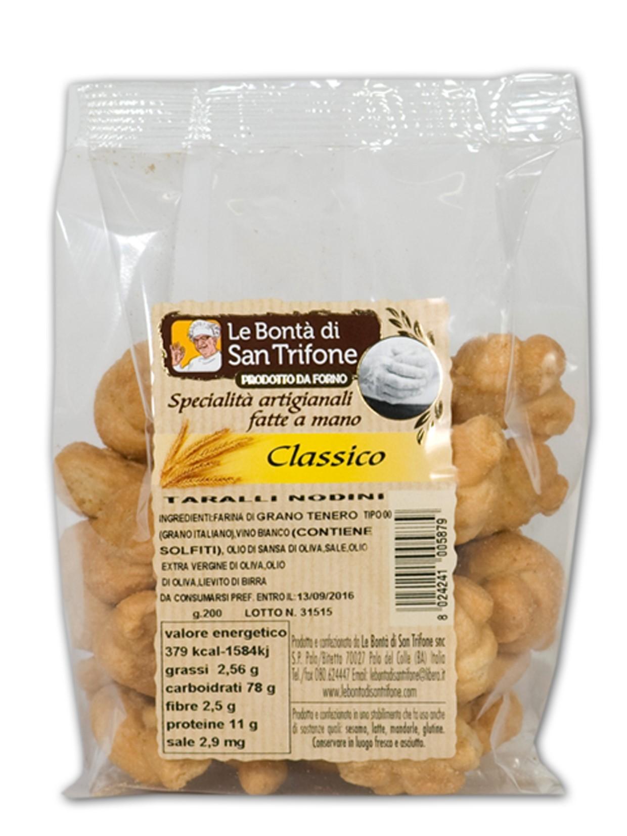 Taralli Nodini (gusto classico)