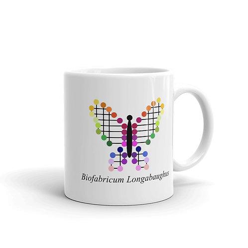 Datavizbutterfly - Biofabricum Longabaughus - Mug