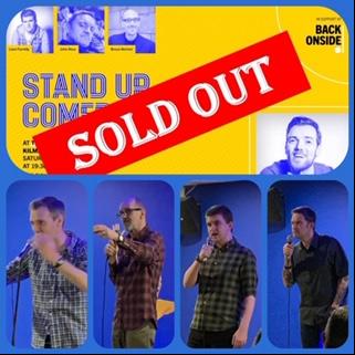 Back Onside Comedy Night image 1