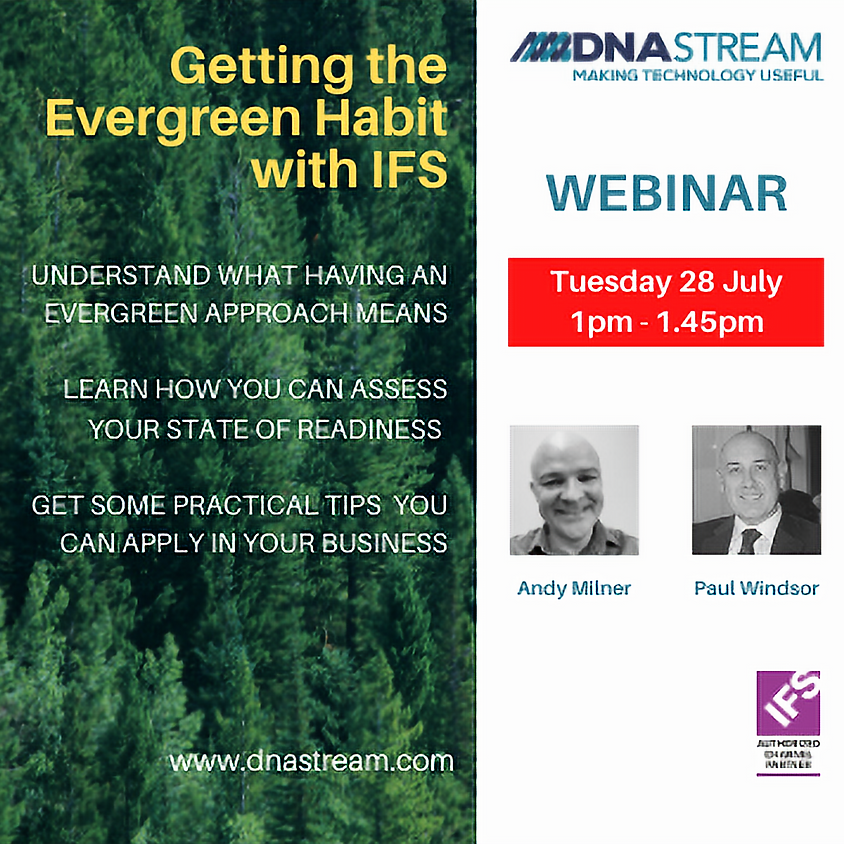 Getting the Evergreen Habit with IFS