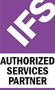 IFS Authorized Services Partner logo