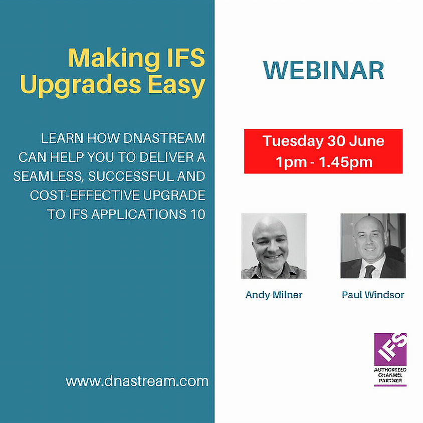 Making IFS Upgrades Easy