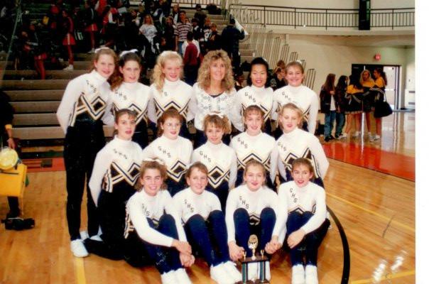Cheer Team, fall 1993
