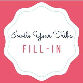 Fill-In Invitations