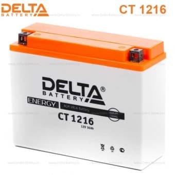 Аккумулятор Delta CT 1216 (12V / 16Ah)