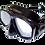 Thumbnail: Маска SARGAN Дельта черный силикон