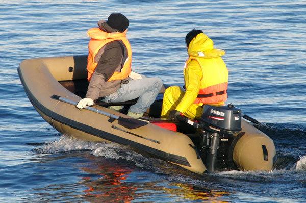 Легкая ПВХ лодка Excel Line